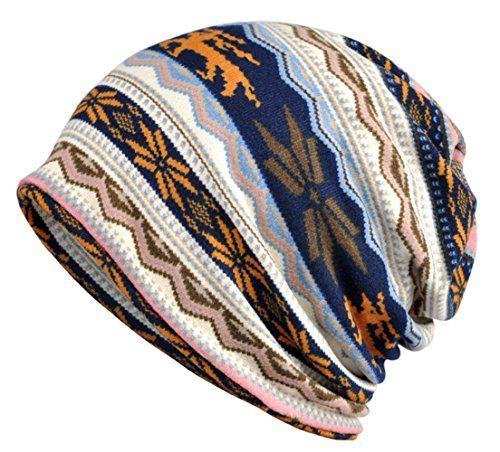 Double Hat Scarf Color Printing Stripe Fashion Bonnet Cap Multi-function  Neck Scarves For Women is designer 721a096c500d