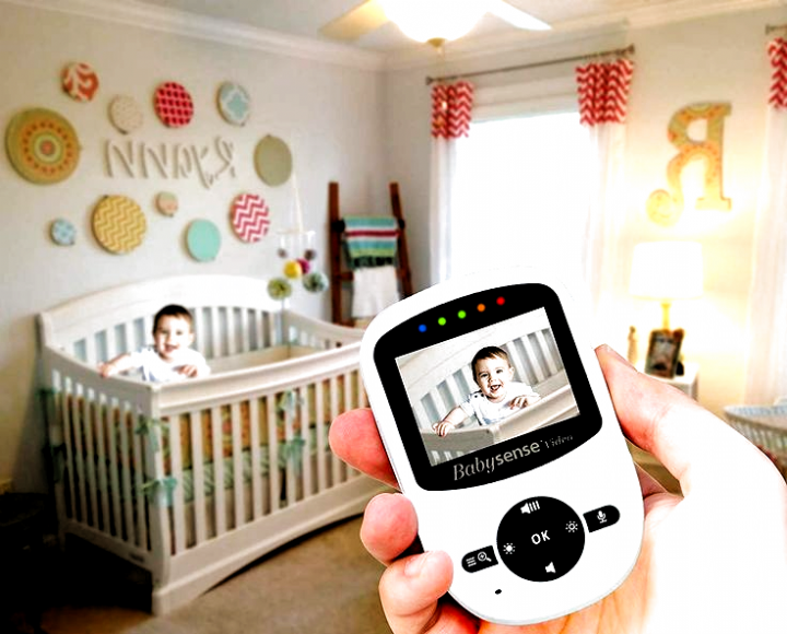 Babysense Video Baby Monitor 1 Baby monitor is sometimes
