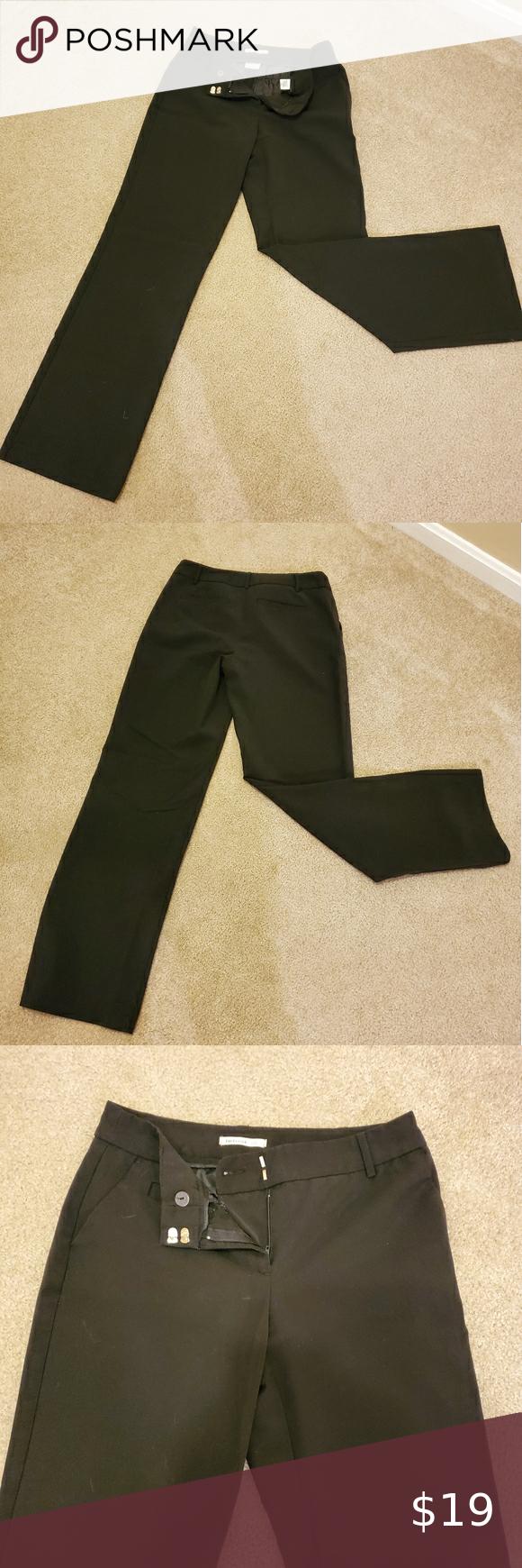 Size 2 Van Heusen Black Dress Pants Size 2 Regular Van Heusen Black Slacks Great Condition Offers Welcome Happy Black Dress Pants Slacks For Women Van Heusen [ 1740 x 580 Pixel ]