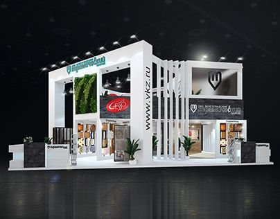ВКЗ batimat russia exhibition stand