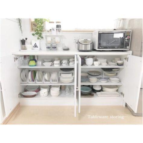 おしゃれさんの食器棚をのぞき見 収納アイデアや買うべき食器の参考に