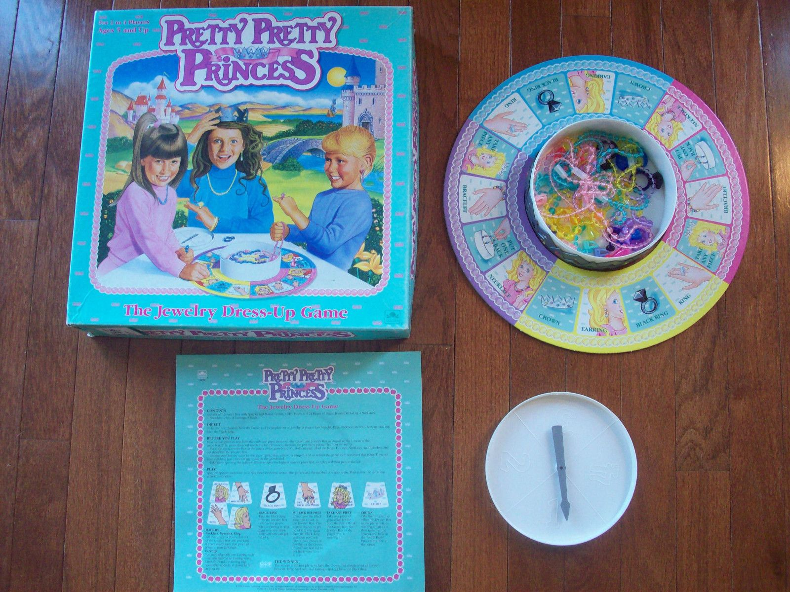 Pretty Pretty Princess Board Game Replacement Parts Pieces Choice Jewelry Crown