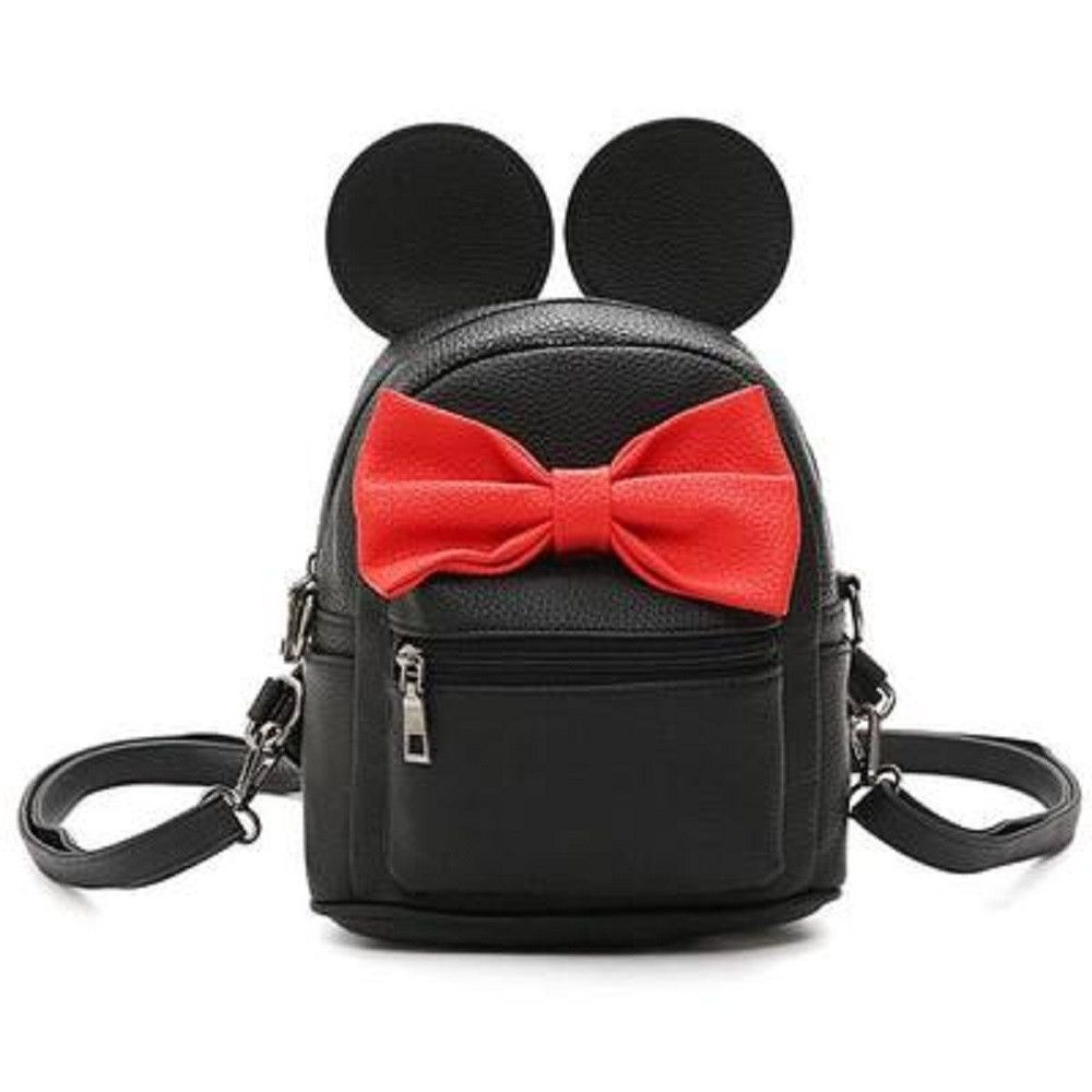 9548c0698ecd Disney Minnie Mickey Mouse Ears Bow Mini Backpack