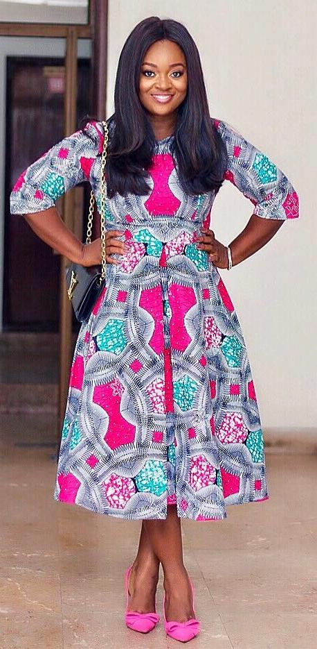 Jackie Appiah In African Fashion Dress African Fashion Ankara
