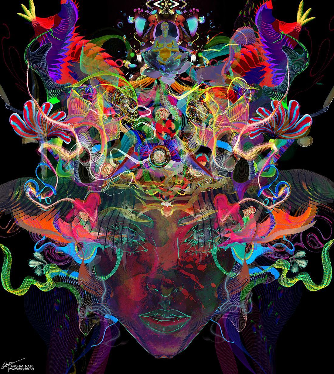 Color art facebook - Archann Archan Nair New Artwork Titled Luminance Website Facebook