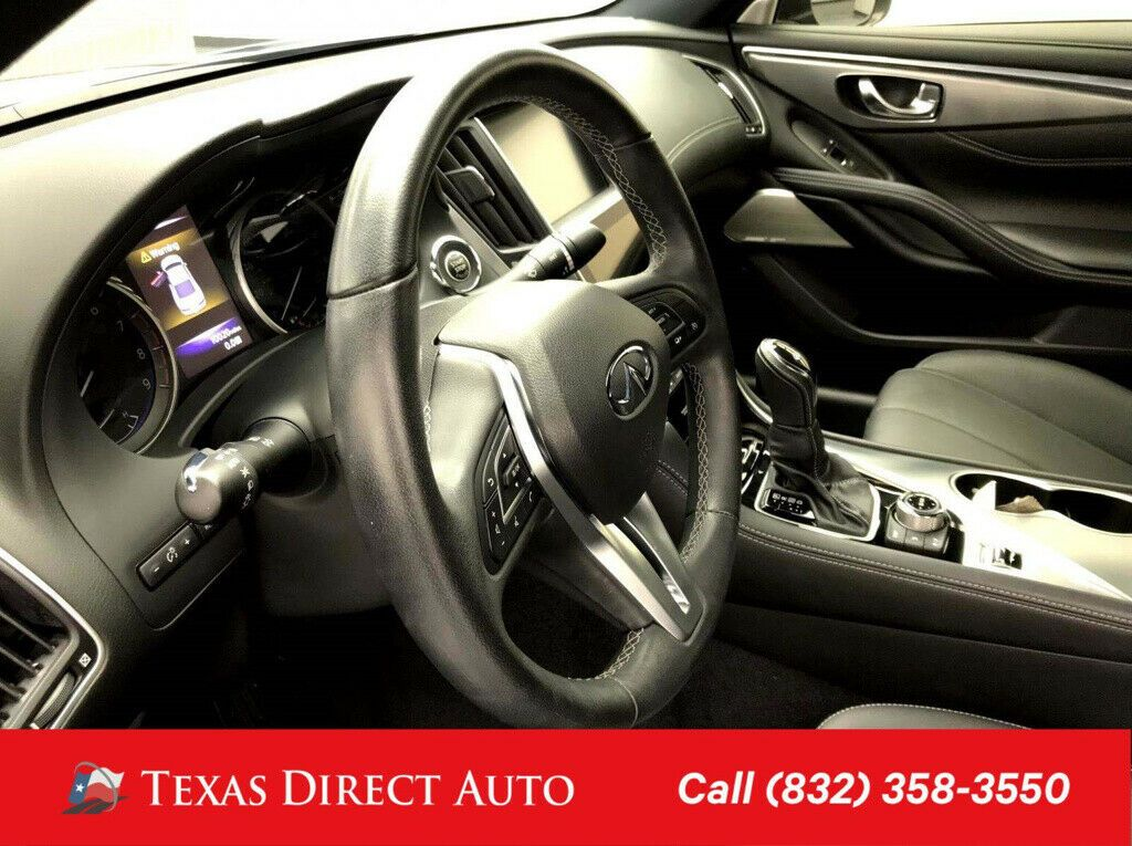 Used 2018 Infiniti Q60 3 0t Luxe Texas Direct Auto 2018 3 0t Luxe Used Turbo 3l V6 24v Automatic Rwd Coupe Bose 2020 24carshop Com In 2020 Infiniti Infiniti Vehicles Coupe