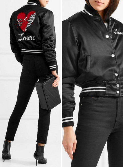 cbf18f8330a Top 21 Most Stunning Women's Designer Bomber Jackets | Buy Designer ...