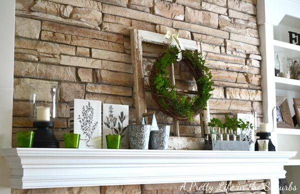 Fresh Herb Summer Wreath HOME - Everything Else Pinterest