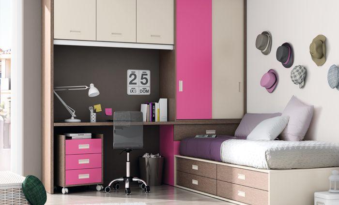 KIBUC muebles y complementos  Dormitorio juvenil Niko