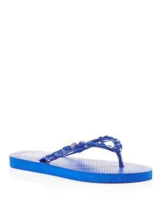 603b0dbafa75e4 TORY BURCH Jeweled Flip Flops.  toryburch  shoes  sandals