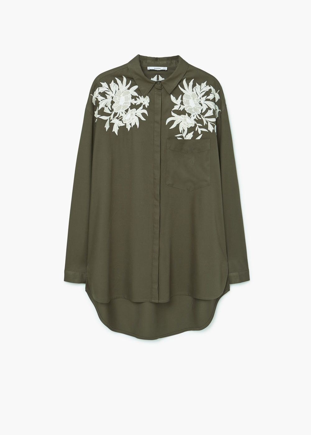 d358bd93bc Embroidered shirt - Women