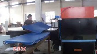 df23ebe9e86 eva sheet foaming machine for making slipper sole flip flop sole - YouTube