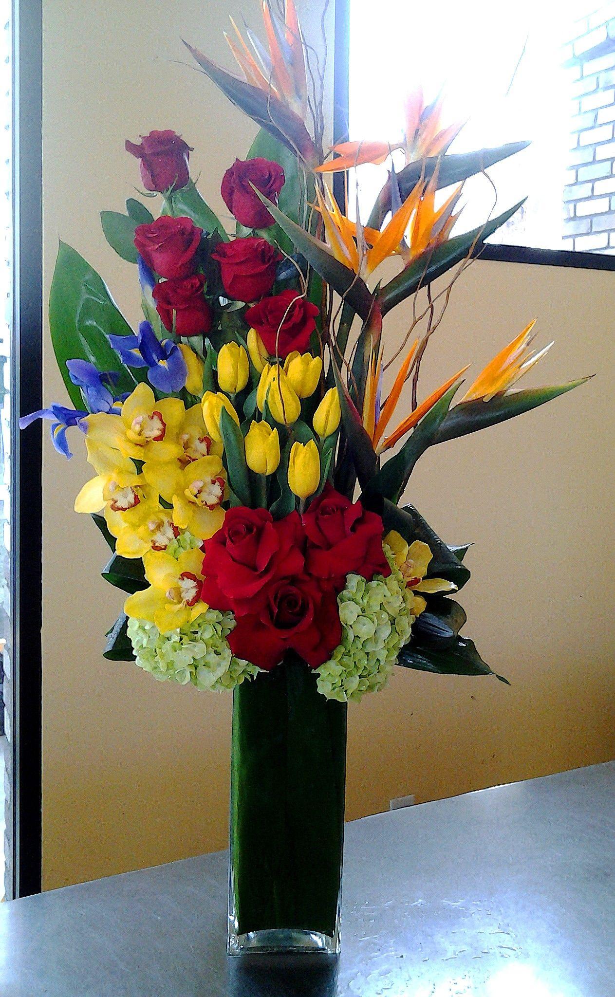 Send the Hidden Garden bouquet of flowers from American