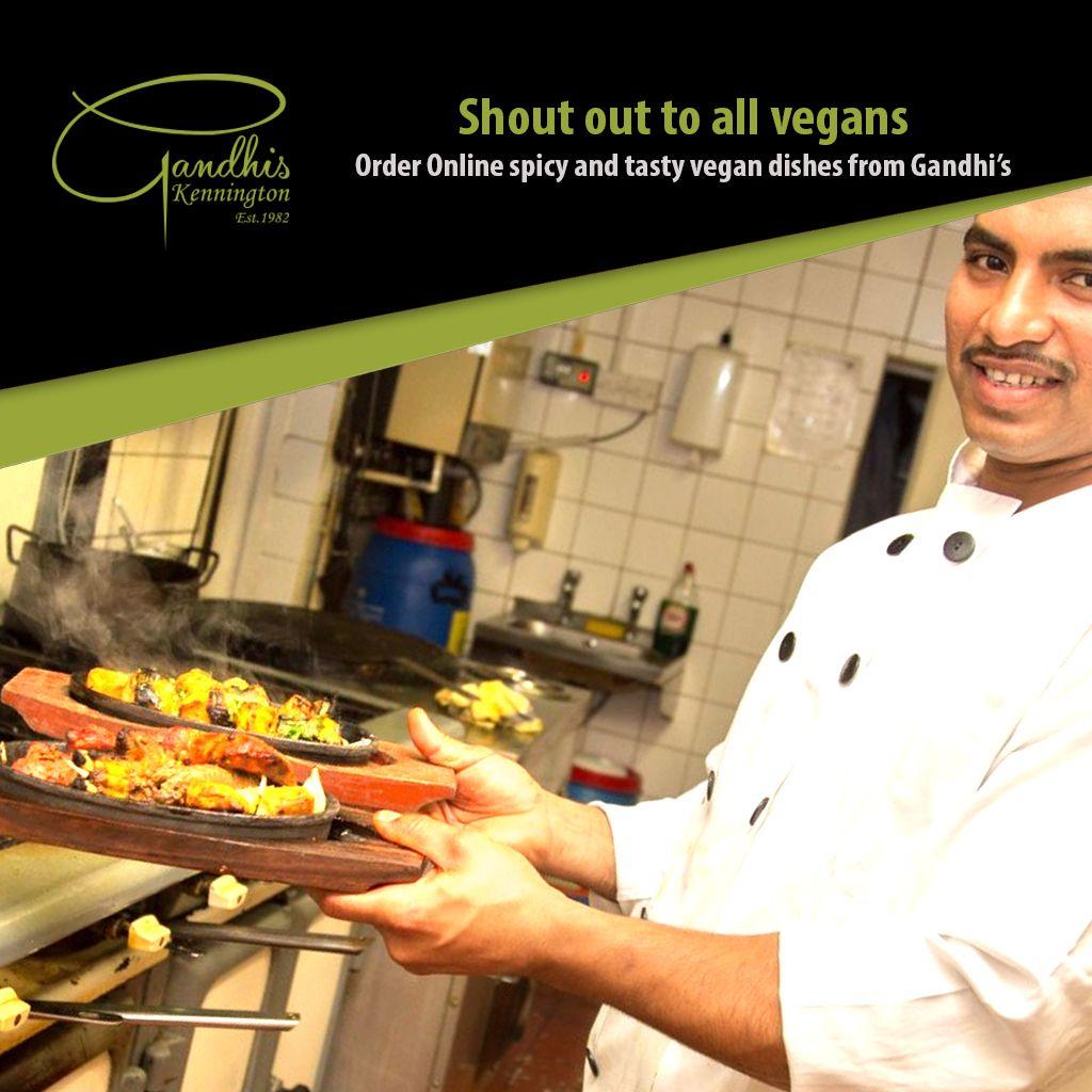 Gandhi S Best Indian Restaurant Takeaway Near Me In Kennington London Indian Food Recipes Vegan Dishes Gandhi