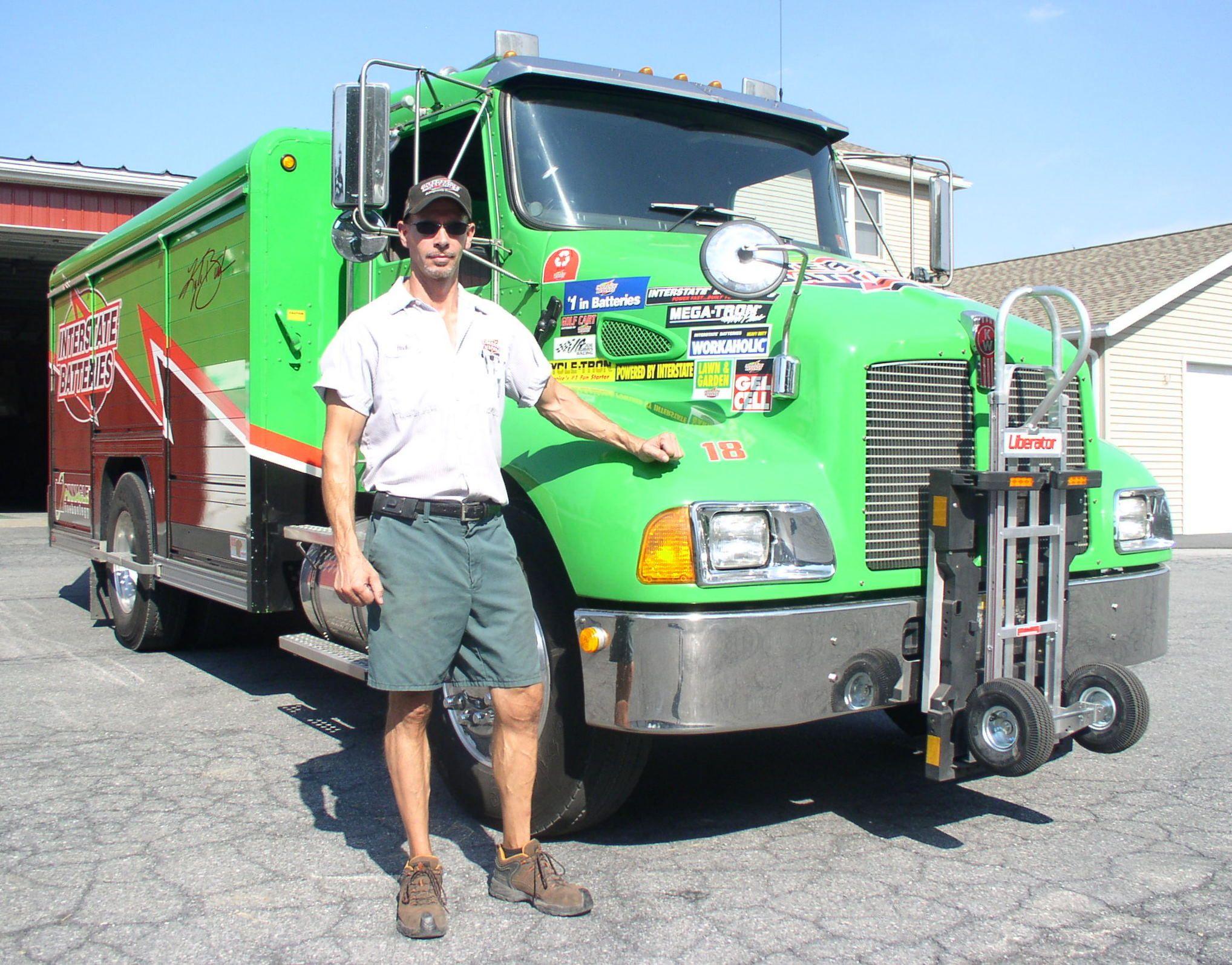 Interstate Battery Of Allentown Pennsyslvania Hand Trucks Truck Transport Trucks