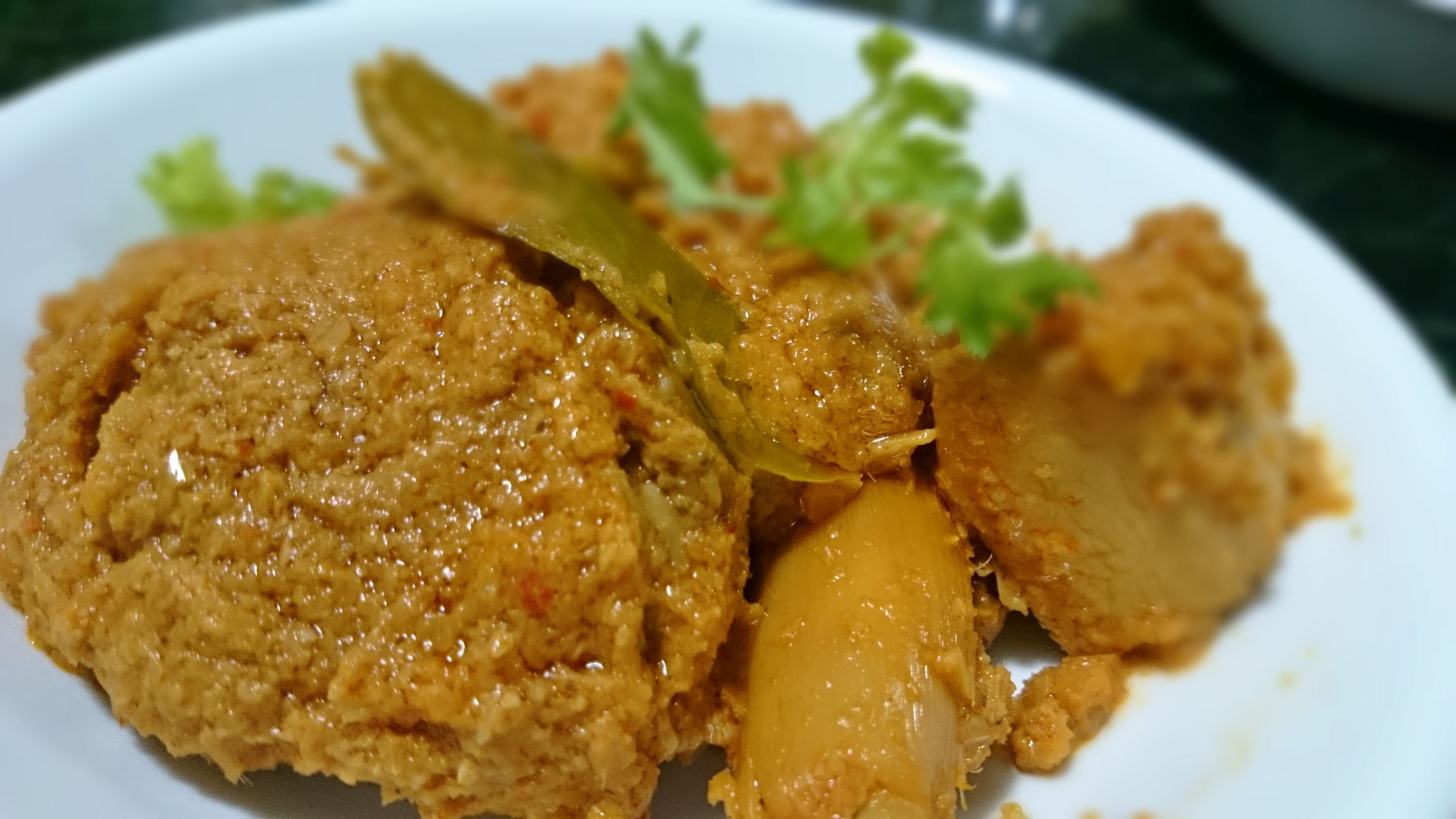Nyonya Ayam Chicken Rendang Tasty Dishes Asian Cooking Curry