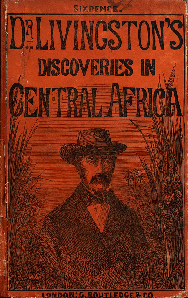 Dr Livingston\u0027s Discoveries in Central Africa 1857 Smithsonian