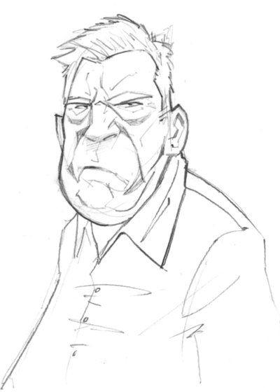 Character Design Old Man : Grumpy old man by patrickbrown viantart on