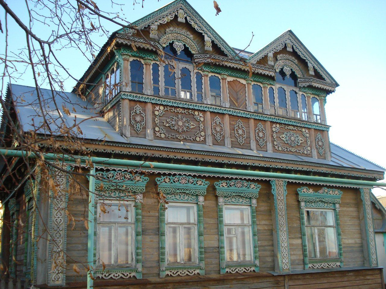 это самые красивые деревянные дома мордовии фото это было