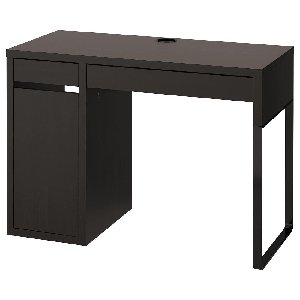 Micke Black Brown Desk 105x50 Cm Shop Today Ikea Micke Desk Ikea Micke Black Desk