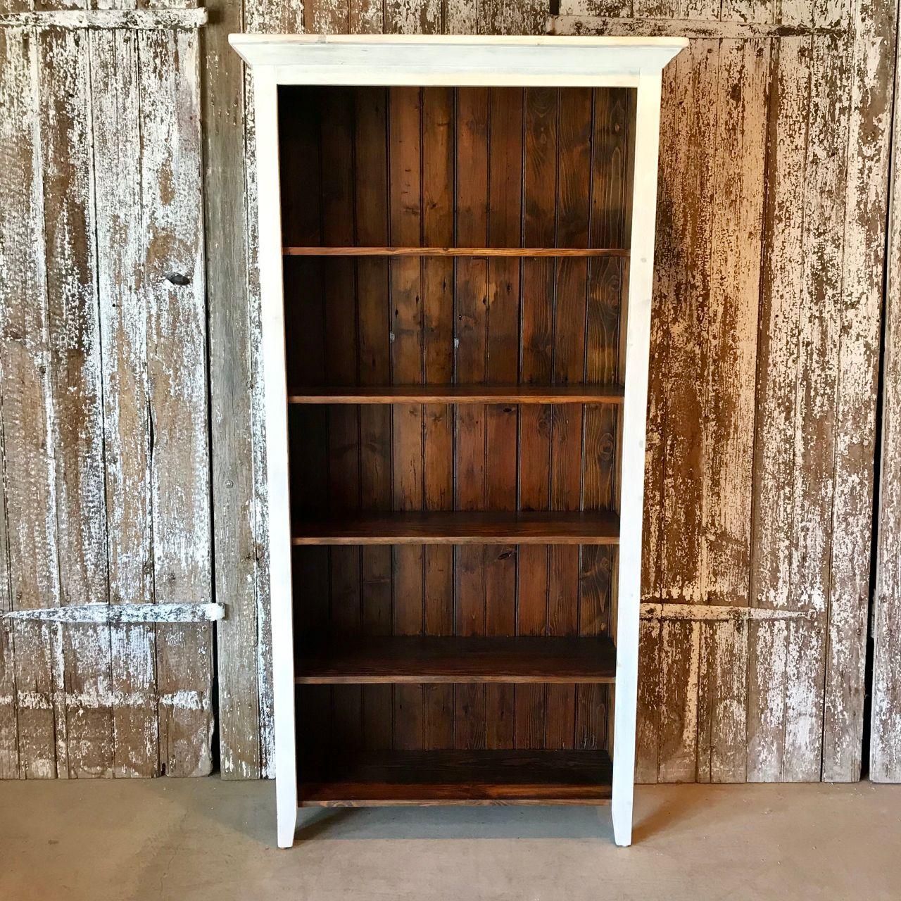 31++ Rustic farmhouse bookcase model