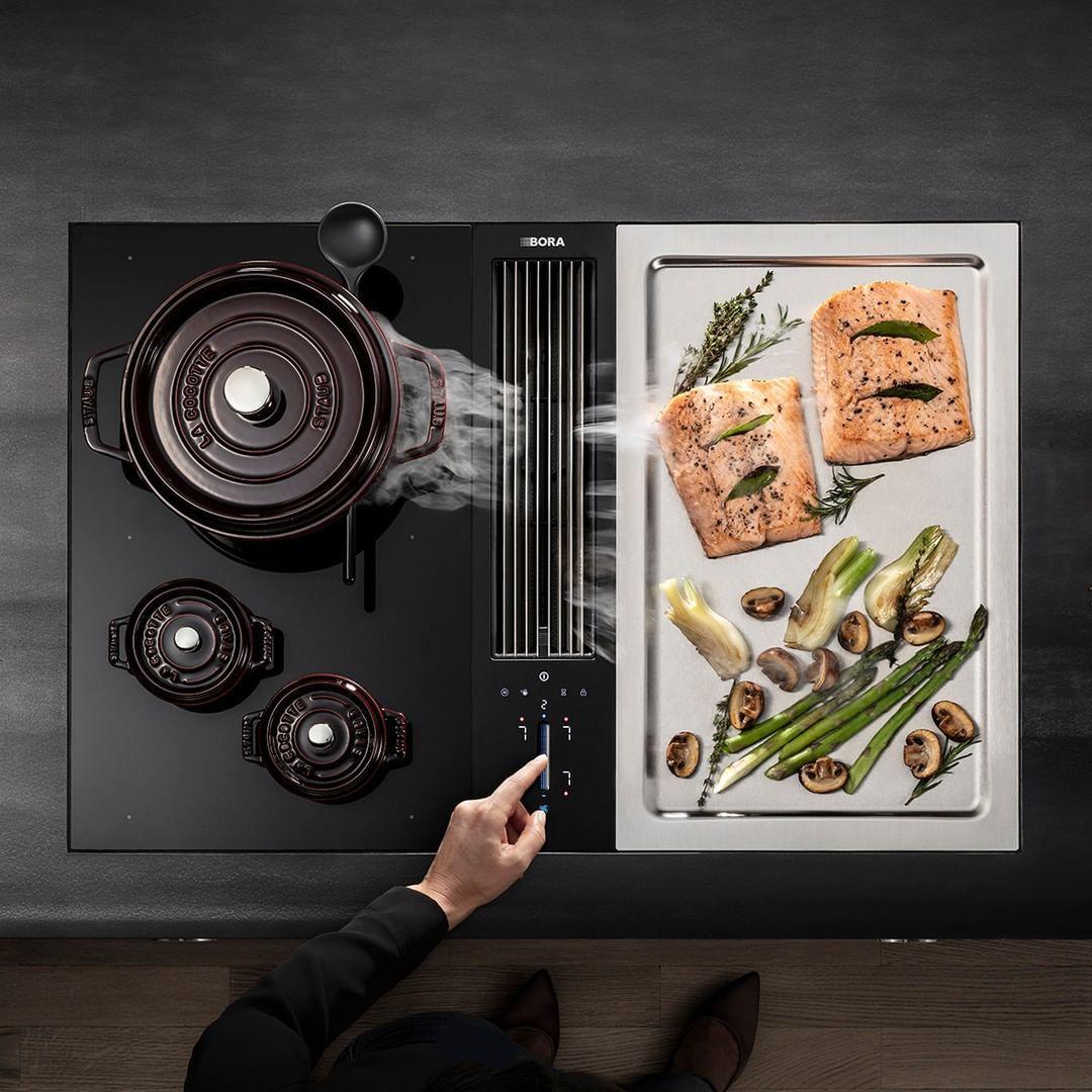 Bora Classic 2 0 Kitchen Inspiration Design Commercial Kitchen Design Industrial Kitchen Design