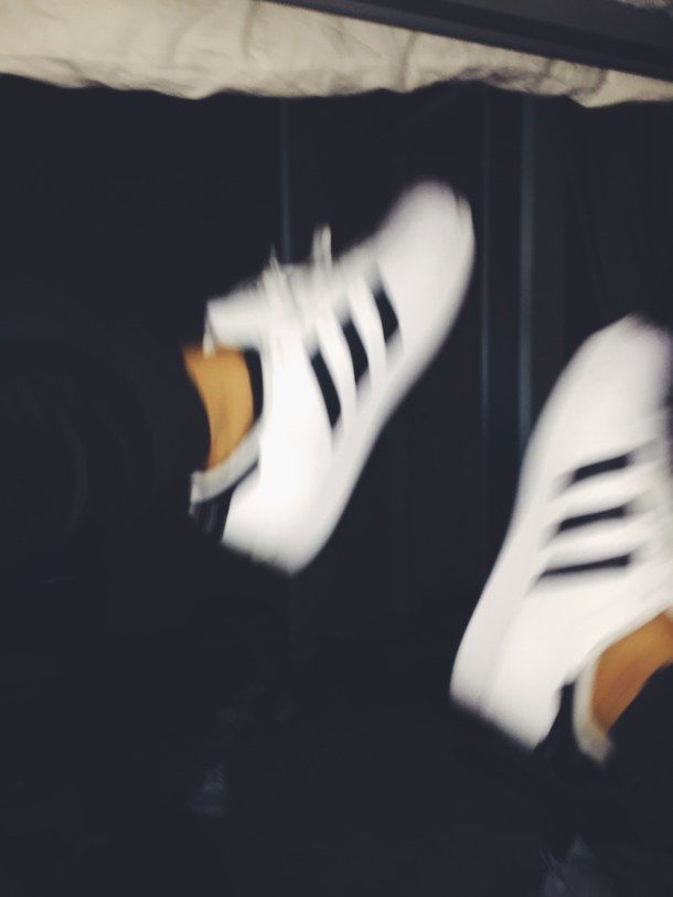 adidas, black, blackandwhite, blurry, cool, shoes, tumblr
