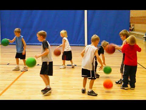 Basketball Dribble Tag Game Basketball Dribbling Drill Youtube