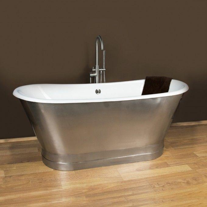 68 Rowley Bateau Cast Iron Skirted Tub Bathtubs Bathroom