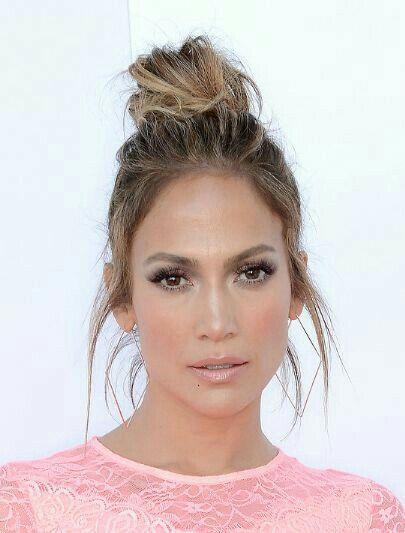 Jennifer Lopez Lovely Jlo W 2019 Fryzura Fryzury I