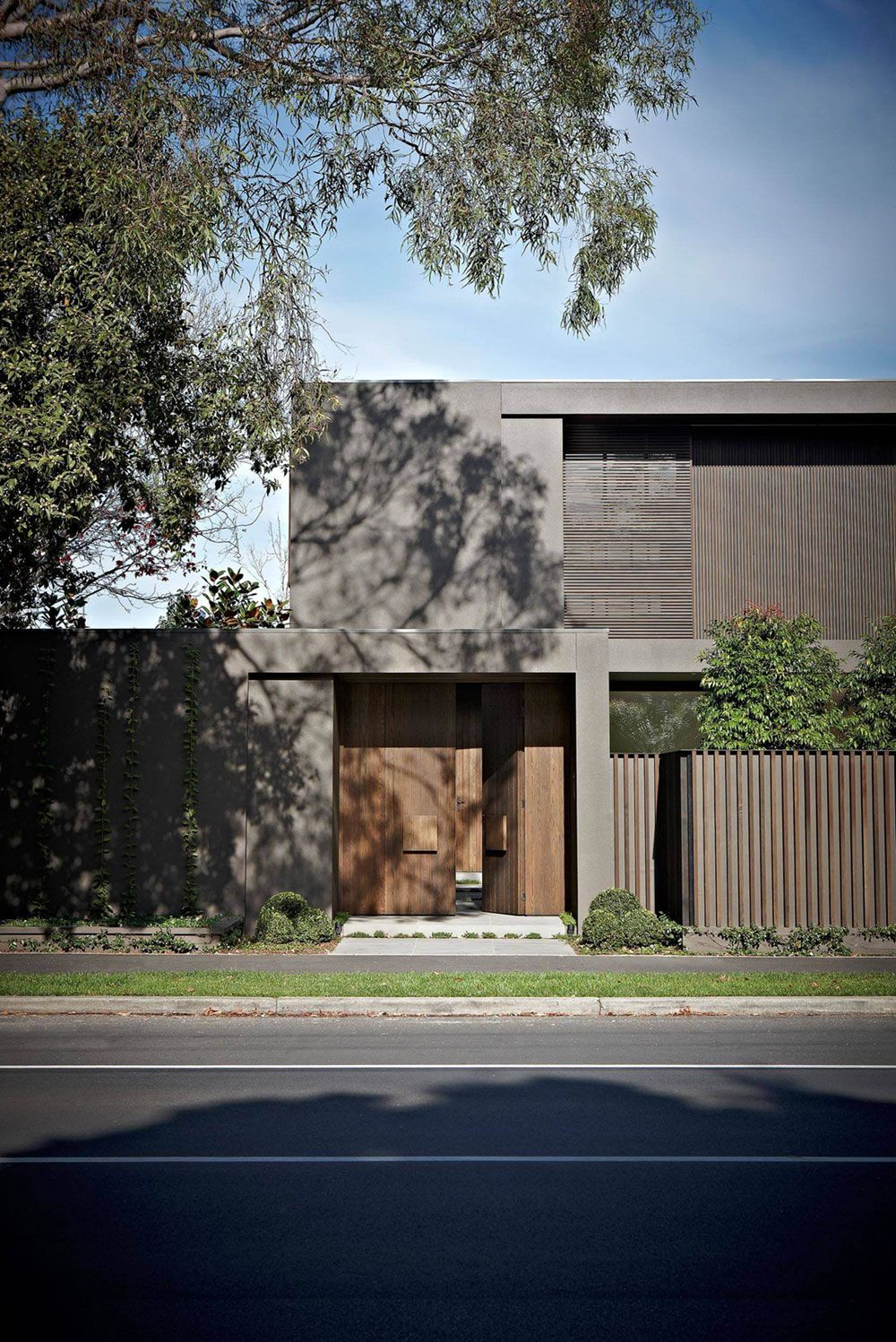 22 Modern Residences With Classy Exterior Designs: Contemporary Two-Story Residence In Melbourne (With Images)