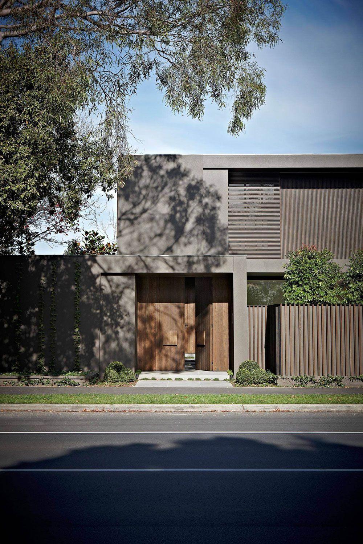 Casa colores modernos por los ángulos urbanos exterior casas