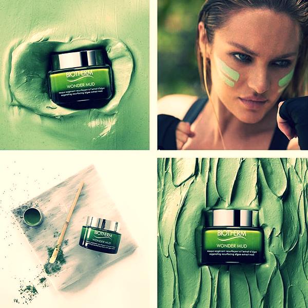 Skin Best Wonder Mud da Biotherm é uma máscara concentrada antioxidante com argila mineral para limpar profundamente, diminuir os poros visíveis e obter um brilho saudável.  #biotherm #skinbestwondermud #cosmetics #cosmetica