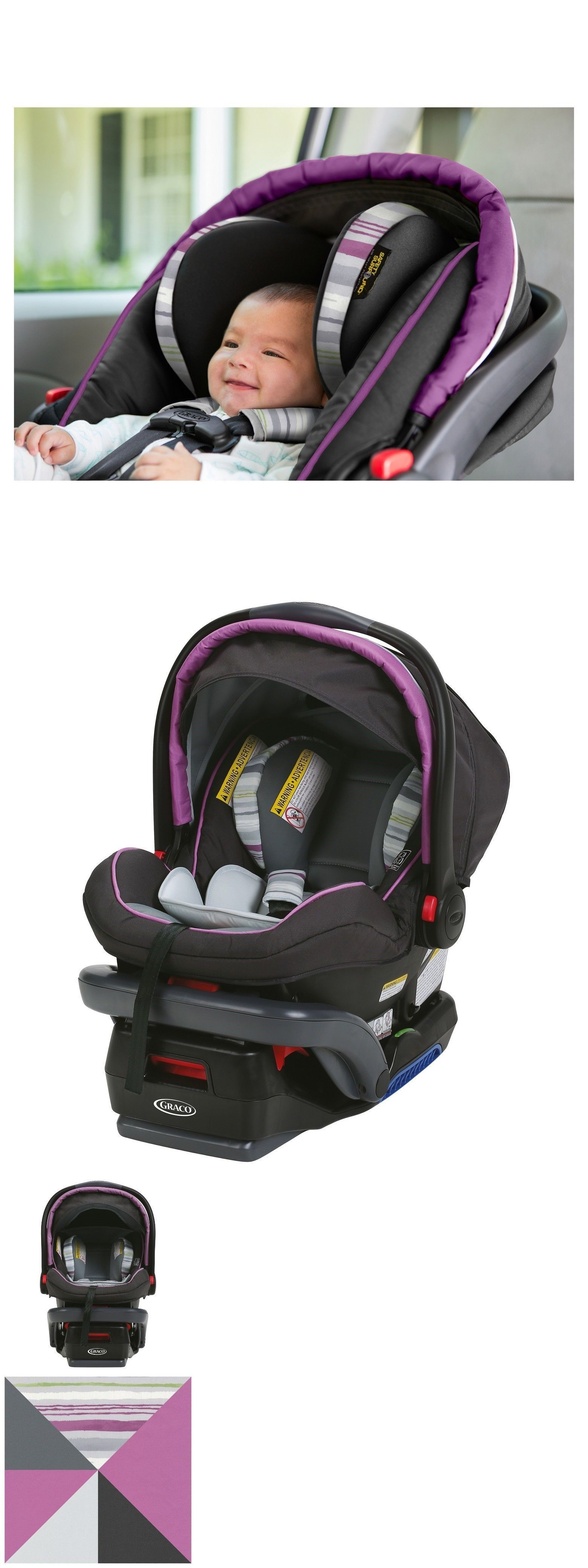 Car Safety Seats 66692 New Graco Snugride Snuglock 35 Elite Infant Seat ColorLansing BUY IT NOW ONLY 15999 On EBay