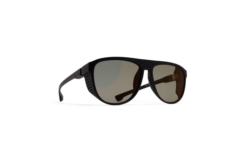 MYKITA Mylon Sun Turbo Md1 Pitch Black Lightgold #mykita #mylon #signaturestyle #luxuryeyewear