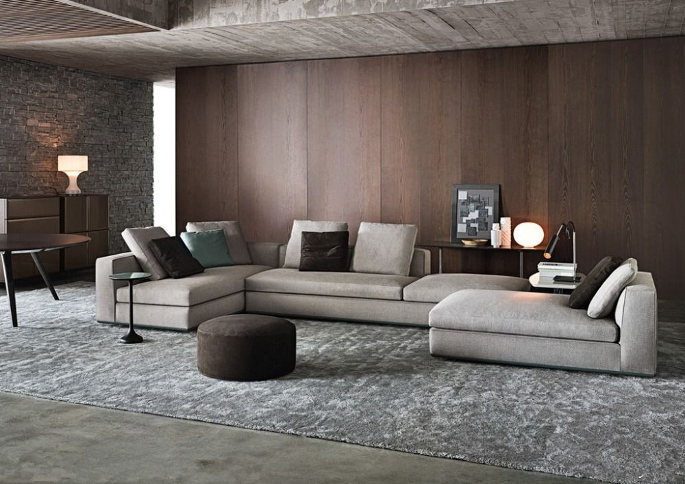 . 2015 Latest New Modern Simple Sofa Designs Fabric Italian Sofa Set