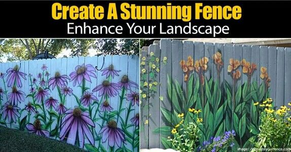 Painting fences Landscaping Pinterest Fences