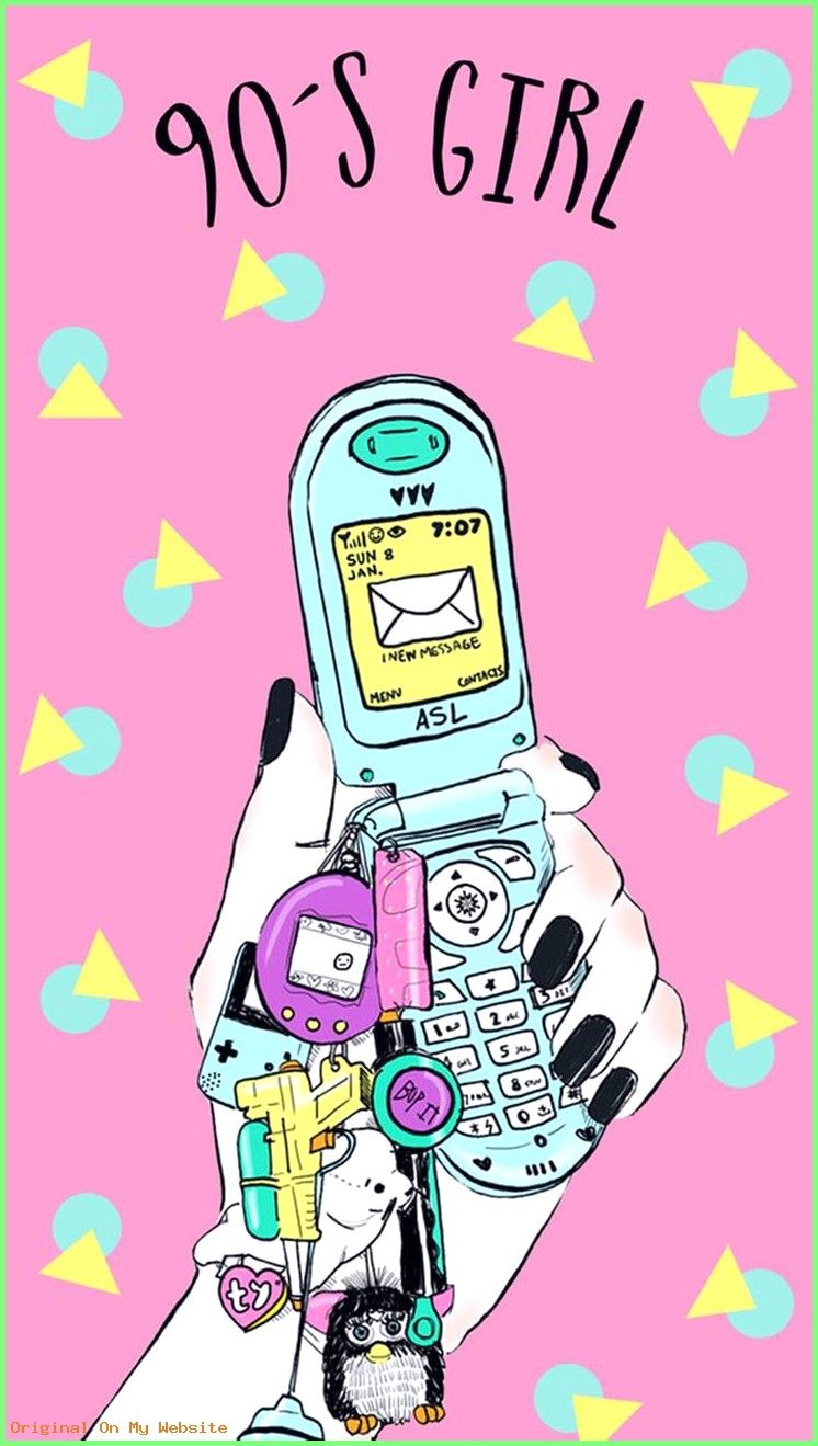 Wallpaper Iphone Ohhh The 90s Downloaded From Girly Wallpapers 90s Wallpaper Cute Wallpapers Aesthetic Wallpapers