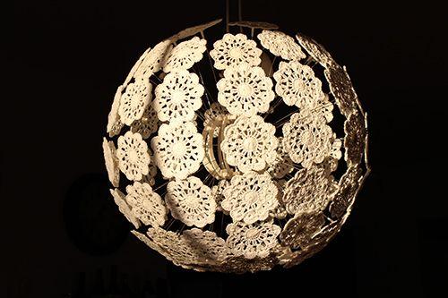 Tutoriel pour créer la LAMPE MASKROS IKEA au crochet great great