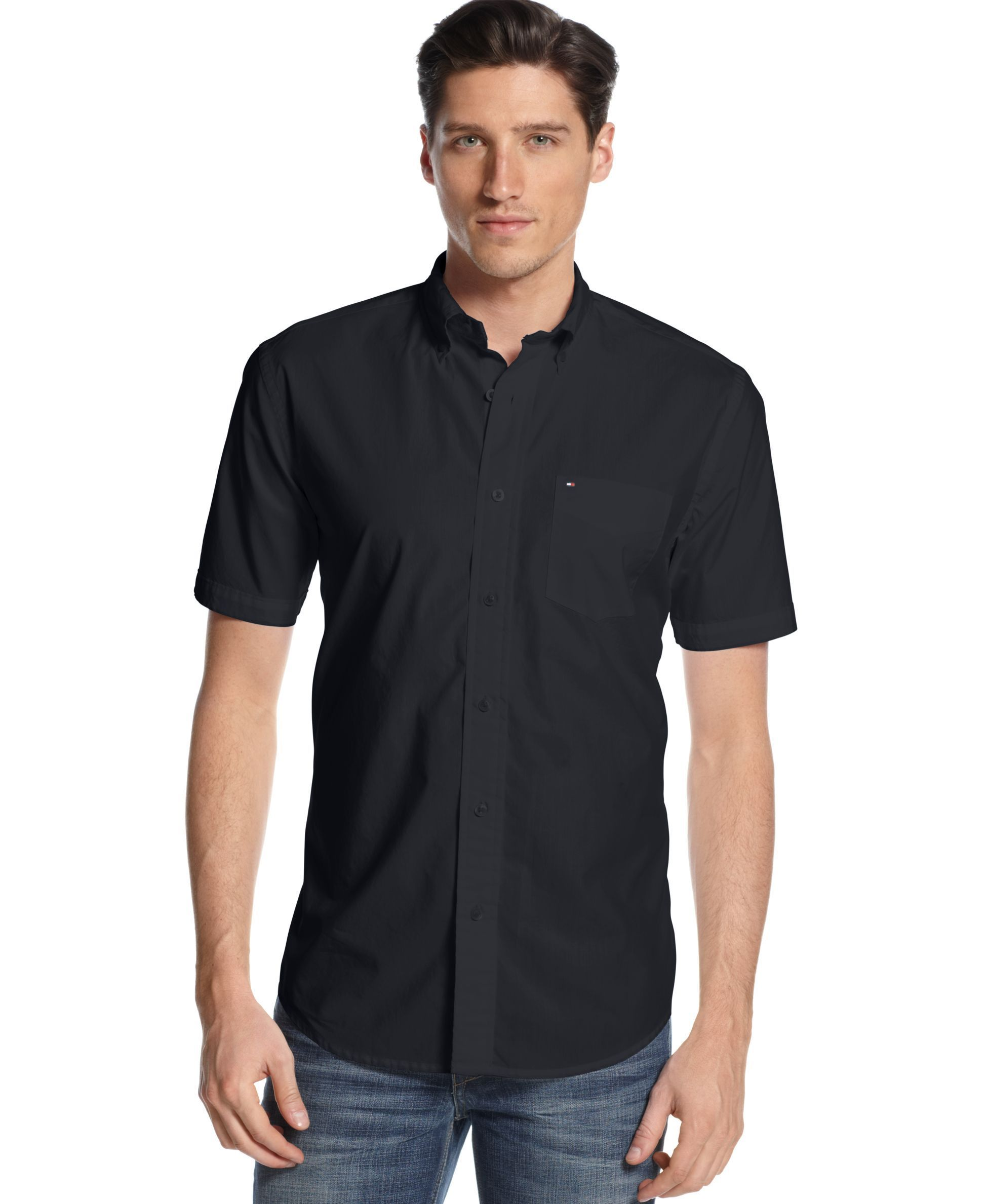 d8b796485 Tommy Hilfiger Short Sleeve Maxwell Shirt | Mens style | Tommy ...