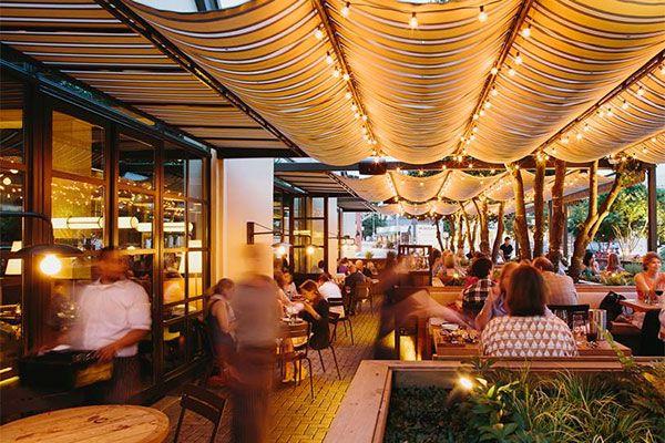 King Duke Atlanta Urban Dining Guide Arsitektur Kanopi Kedai Kopi