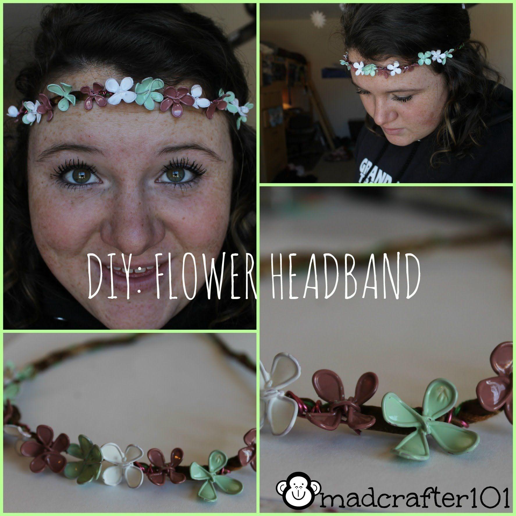 Easy DIY for a new kind of flower headband!