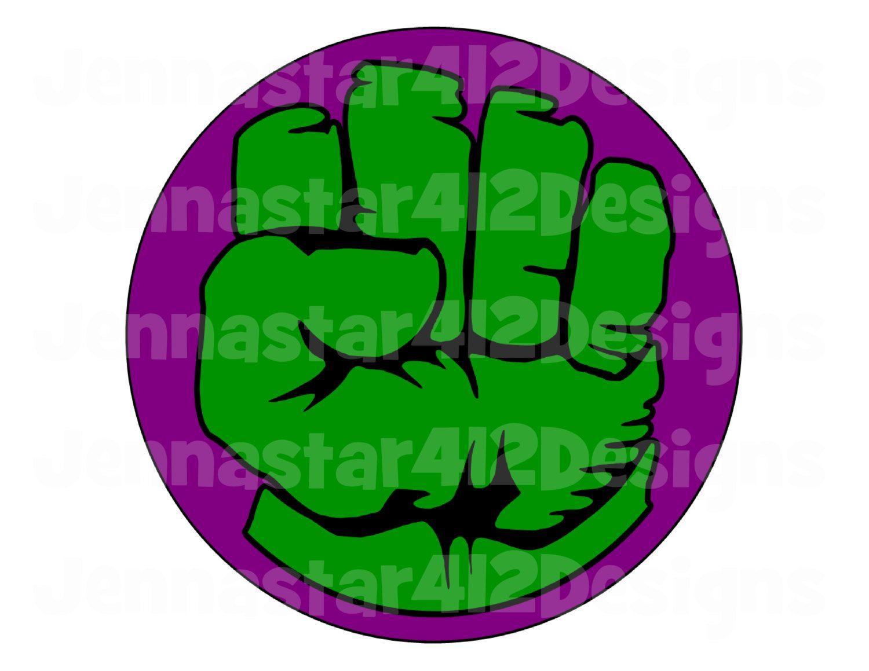 Super Hero Avengers Hulk Logo 2 Inspired DIY Printable Iron On ...