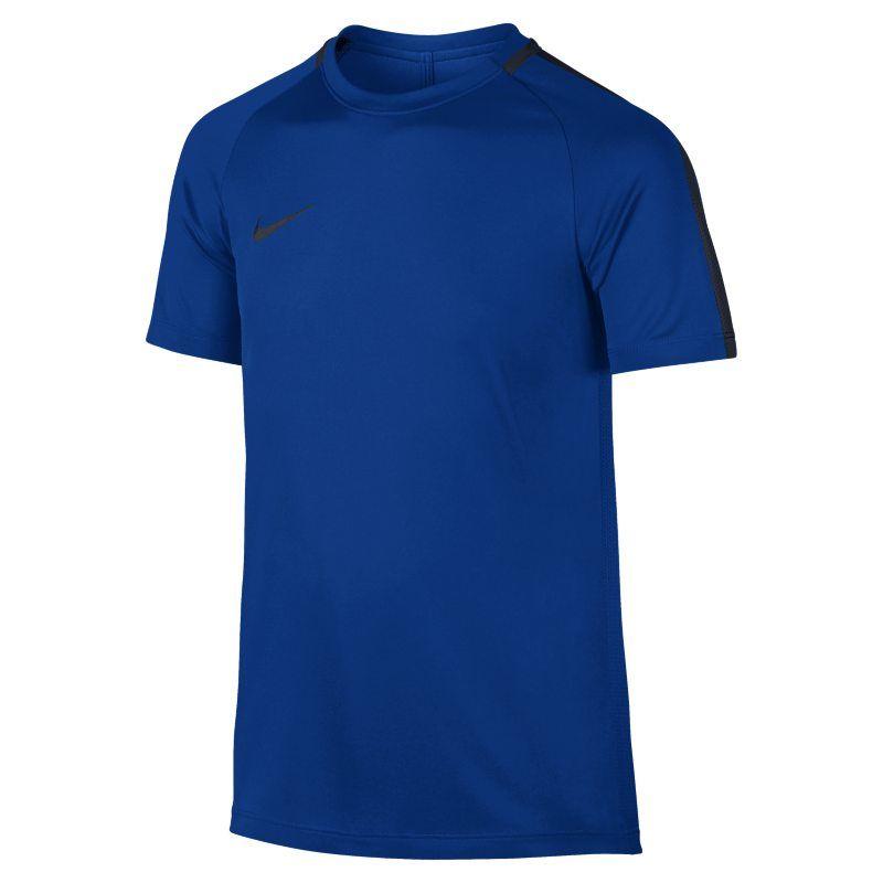 low priced ab0fb bb03f Nike Dri-FIT Academy Older Kids Football Top - Blue
