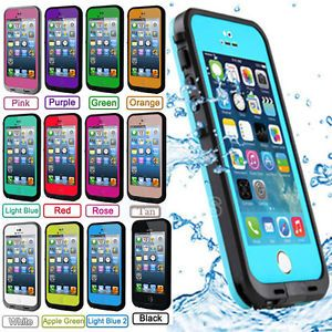 best service d40e5 bc0be For Apple iPhone 5 5S Waterproof Shockproof Dirt Proof Durable Case ...