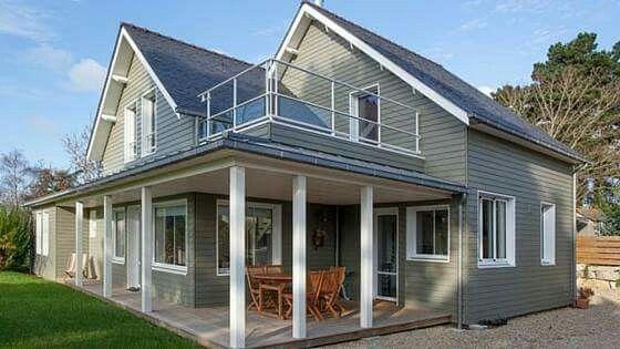 Incroyable Maison type Louisiane | Construction maison bois, Maison bois AR-97