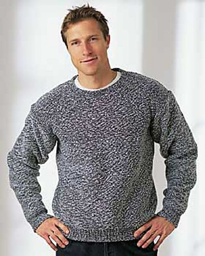 cf88d93c9d3cdc Ravelry  Men s Dropshoulder Sweater pattern by Bernat Design Studio ...