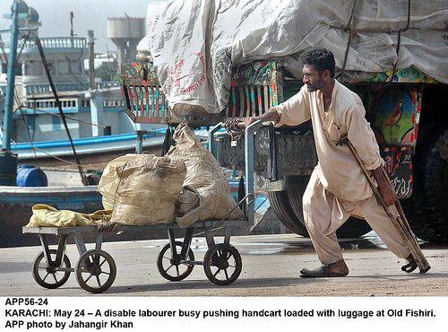 disable labourer