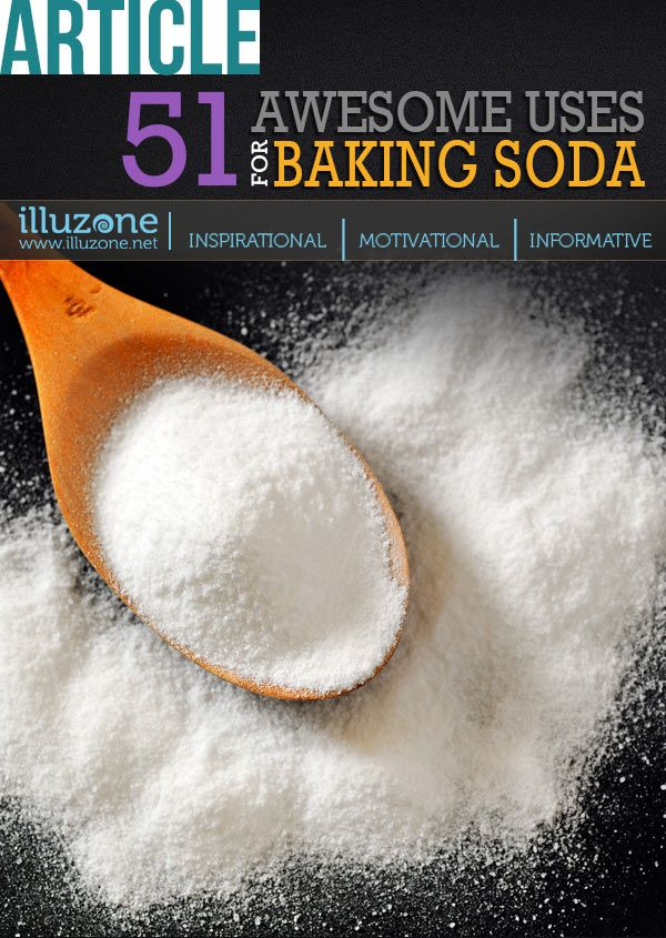 51 Awesome Uses for Baking Soda