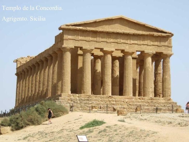 Grecia Arquitectura Templo De La Concordia Outdoor Structures Greece Gazebo